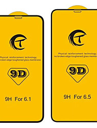 cheap -AppleScreen ProtectoriPhone XS 9H Hardness Front Screen Protector 1 pc Tempered Glass
