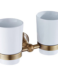 cheap -Toothbrush Holder New Design Contemporary Brass 1pc Wall Mounted