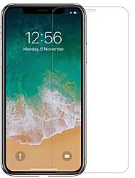 Недорогие -протектор экрана nillkin для яблока iphone xr закаленное стекло 1 шт. экранный протектор с высоким разрешением (hd) / 9h твердость / взрывозащита