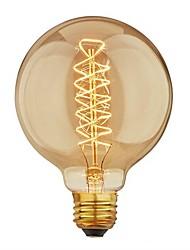cheap -1pc 40 W E26 / E27 G95 Warm White 2200-2700 k Retro / Dimmable / Decorative Incandescent Vintage Edison Light Bulb 220-240 V