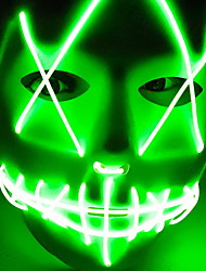cheap -Holiday Decorations Halloween Decorations Halloween Masks / Halloween Entertaining Cool Green 1pc