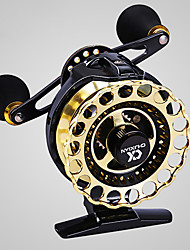 cheap -Fishing Reel Fly Reel 4.3:1 Gear Ratio+8 Ball Bearings Right-handed / Left-handed Fly Fishing / Bait Casting / Freshwater Fishing