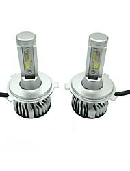 cheap -1 Set 45W 4500LM H4 LED Headlight Kit