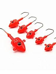 cheap -5 pcs Fishing Hooks Sea Fishing / Fly Fishing / Bait Casting Lead Easy to Use / Ice Fishing / Spinning / Jigging Fishing / Freshwater Fishing / Carp Fishing