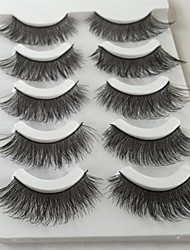 cheap -Eyelash Extensions 10 pcs Natural Curly Fiber Practice Crisscross Natural Long - Makeup Daily Makeup Halloween Makeup Party Makeup High Quality Cosmetic Grooming Supplies