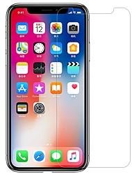 Недорогие -протектор экрана nillkin для яблока iphone xs закаленное стекло / домашнее животное 1 шт передний& назад протектора высокая четкость (hd) / 9h твердость / взрывозащита