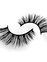 cheap -Eyelash Extensions 4 pcs Pro Natural Curly Animal wool eyelash Daily Wear Practice Thick - Makeup Daily Makeup Halloween Makeup Party Makeup Professional High Quality Cosmetic Grooming Supplies