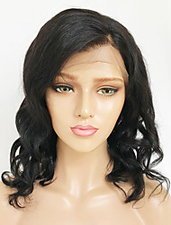 cheap -Human Hair Lace Front Wig Wendy style Brazilian Hair Burmese Hair Loose Wave Natural Wig 130% Density with Baby Hair Women Easy dressing Best Quality Hot Sale Women's Long Human Hair Lace Wig