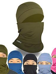 abordables -Cagoule Masque de protection contre la pollution Chaud Coupe Vent Respirable Vélo / Cyclisme Bleu Rose Bleu Marine Toison Hiver pour Homme Adulte Cyclisme / Vélo Camping / Randonnée / Spéléologie Ski