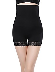 cheap -Women's Basic Seamless Panties / Shaping Panties - Maternity / Normal, Solid Colored High Waist Black Camel M L XL