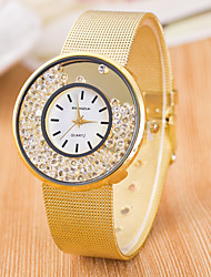 cheap -Women's Wrist Watch Diamond Watch Quartz Silver / Gold Casual Watch Analog Ladies Fashion Minimalist - Silver Golden