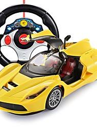 Недорогие -Машинка на радиоуправлении FLL-1 5-канальн. 2.4G Автомобиль (дорожный) / Автомобиль / Дрифт-авто 1:14 Бесколлекторный электромотор 15 km/h