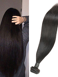 cheap -1 Bundle Indian Hair Straight Remy Human Hair Human Hair Extensions 8-30 inch Human Hair Weaves Soft Best Quality New Arrival Human Hair Extensions / 10A