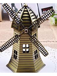 abordables -Moulin à vent Moulin à vent Bâtiment Célèbre Créatif Exquis Alliage de métal 1 pcs Adolescent Adulte Tous Garçon Fille Jouet Cadeau