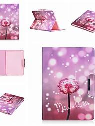 cheap -Case For Apple iPad Air / iPad 4/3/2 / iPad Mini 3/2/1 Card Holder / with Stand / Flip Full Body Cases Dandelion / Flower Hard PU Leather / iPad Pro 10.5 / iPad (2017)