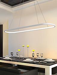 cheap -1-Light 22 cm Chandelier Aluminum Silica gel Island Painted Finishes Modern Nordic Style 110-120V 220-240V