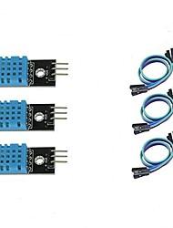 abordables -3pcs dht11 module de capteur de température et d'humidité pour arduino framboise pi 2 3