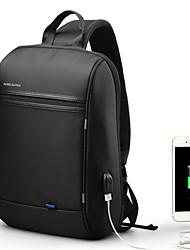 cheap -Men's Zipper Polyester Sling Shoulder Bag Black