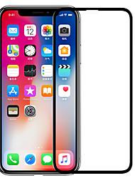 Недорогие -протектор экрана nillkin для яблока iphone xs закаленное стекло 1 шт. полный защитный экран для экрана с высоким разрешением (hd) / 9h твердость / взрывозащита
