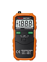 cheap -Official PEAKMETER PM6501 LCD Display Digital Thermometer with K Type Thermocouple Termometro with Data Hold