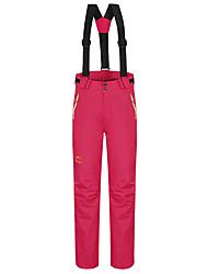 cheap -Women's Ski / Snow Pants Ski Bibs Thermal Warm Waterproof Windproof Static-free Fall Pants / Trousers for Ski / Snowboard Winter Sports / Cotton