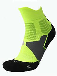 cheap -Compression Socks Ankle Socks Long Socks Football Socks Athletic Sports Socks Cycling Socks Men's Bike / Cycling Cycling Camping & Hiking Fitness, Running & Yoga 1 Pair Winter Yarn Dyed Cotton