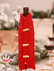 cheap -Wine Bags & Carriers Christmas / Holiday Textile Cube Party / Novelty Christmas Decoration