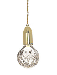 cheap -1-Light Ecolight™ 10 cm Mini Style / Adjustable / New Design Pendant Light Metal Glass Bronze / Electroplated Retro Vintage / Chic & Modern 110-120V / 220-240V