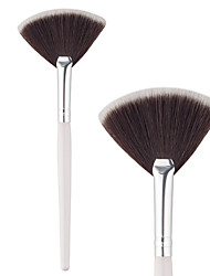 cheap -Professional Makeup Brushes Make Up 1 Piece Professional Synthetic Hair Aluminium for