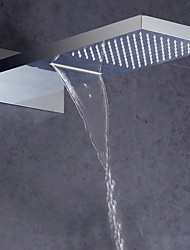 cheap -Contemporary Rain Shower Chrome Feature - Shower / Rainfall, Shower Head