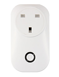 cheap -WETO W-T05 UK WiFi Smart Plug for Smart Home Remote Control Works With Alexa Google Home Timer Socket for iOS Android