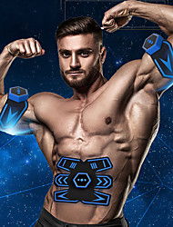 cheap -Abs Stimulator Abdominal Toning Belt EMS Abs Trainer Rechargeable Electronic Muscle Toner Wireless EMS Training Muscle Toning Abdominal Toning Exercise & Fitness Gym Workout For Men Women Leg Abdomen