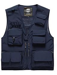 cheap -Men's Fishing Vest Vest / Gilet Windproof Rain Waterproof Breathability Hunting Fishing Sports & Outdoor