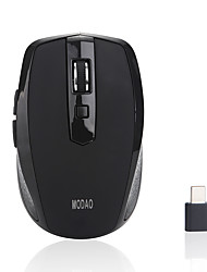 cheap -MODAO E27 Wireless 2.4G Optical Office Mouse / Silent Mouse Led Light 800/1200/1600 dpi 3 Adjustable DPI Levels 6 pcs Keys 2 Programmable Keys