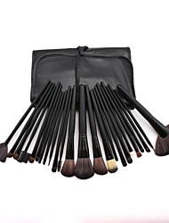 cheap -Professional Makeup Brushes Blush Brush 24pcs Full Coverage Plastic for