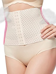 cheap -Women's Hook & Eye Underbust Corset - Solid Colored, Cut Out Without Lining Camel L XL XXL / Sexy