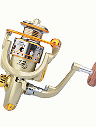 cheap -Fishing Reel Spinning Reel 2.6:1 Gear Ratio+11 Ball Bearings Hand Orientation Exchangable General Fishing - LF2000