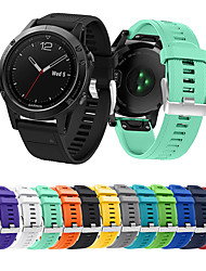 cheap -Watch Band for Fenix 5 / Fenix 5 Plus / Garmin Quatix 5 Garmin Sport Band Silicone Wrist Strap