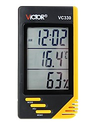 cheap -VICTOR VC330 Household digital portable thermometer and hygrometer with clock and calendar