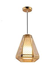 Недорогие -QIHengZhaoMing 2-Light 23 cm Подвесные лампы Металл Электропокрытие Традиционный / классический 110-120Вольт / 220-240Вольт