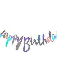 Недорогие -Вечеринка Высококачественная бумага 1шт День рождения