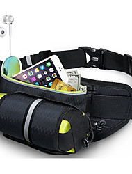 cheap -Running Belt Fanny Pack Waist Bag / Waist pack for Running Marathon Fishing Hiking Sports Bag Lightweight Breathability Wearable Nylon Running Bag Adults'