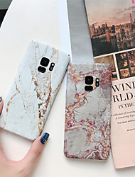 cheap -Case For Samsung Galaxy S9 / S9 Plus / S8 Plus Pattern Back Cover Marble Hard PC