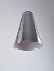 cheap -1-Light CXYlight 16 cm New Design Pendant Light Metal Cone Electroplated Retro Vintage / Country 110-120V / 220-240V