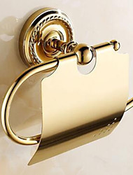 cheap -Toilet Paper Holder Premium Design / Cool Modern Brass 1pc Toilet Paper Holders Wall Mounted