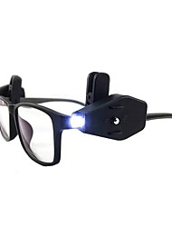 cheap -BRELONG® Eyeglass Book Light Adjustable / Wireless / Creative Button Battery Powered 2pcs