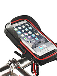 cheap -Wheel up Cell Phone Bag Bike Handlebar Bag Touch Screen Waterproof Headset Hole Bike Bag TPU Sponge Nylon Bicycle Bag Cycle Bag iPhone X / iPhone XR / iPhone XS Mountain Bike MTB Road Cycling