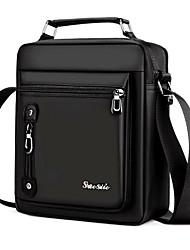 cheap -Men's Bags Oxford Cloth Shoulder Messenger Bag Crossbody Bag Zipper Office & Career MessengerBag Black Brown