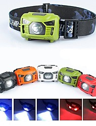 cheap -Headlamps Safety Light Headlight Waterproof 1000 lm LED LED 5 Emitters 5 Mode with USB Cable Waterproof Portable Adjustable Travel Size Camping / Hiking / Caving Cycling / Bike Fishing Black White