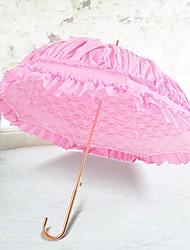 abordables -Poignée crochet Mariage / Quotidien Parapluie Déco de Mariage Unique / Parapluie / Ombrelle Env.85cm